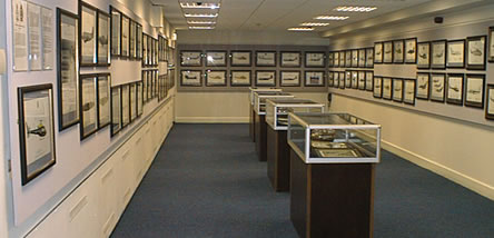 The Temporary Exhibition Gallery at Cosford