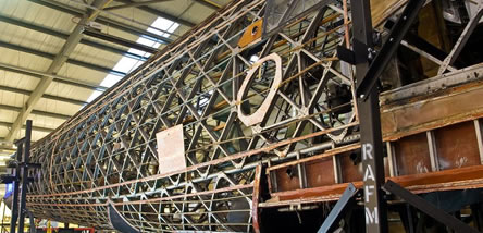 Long Term Restoration - Wellington Bomber