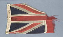 Why is this tattered Union Flag one of our most treasured artefacts?