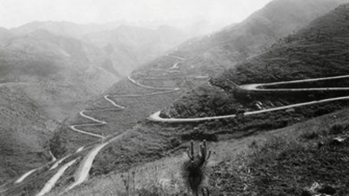 The Burma Road on the Chinese side
