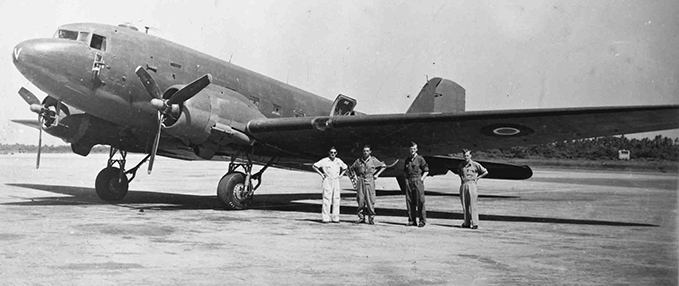Douglas Dakota IV, No.31 Squadron, Assam 1946
