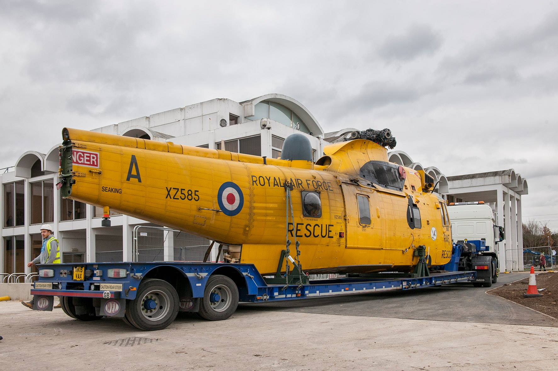 The Arrival of Westland Sea King Helicopter HAR3