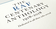 Stories from the RAF Centenary Anthology, Part 1