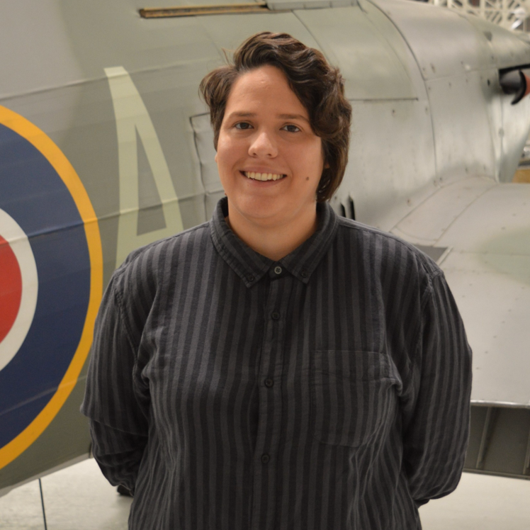Jess Boydon, Community Engagement Officer, RAF Stories