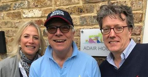As part of his #5Marathonsin5Days training Alan walked 14.5 miles from Marlow to Windsor as part of training and called in to see Lesley king-lewis and Jonathan Story of Windsor Leadership Trust,