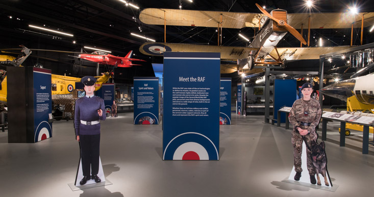 Meet the RAF - as part of RAF Stories