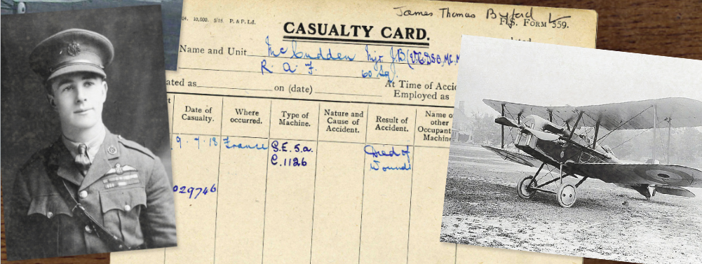 First World War Casualty Cards