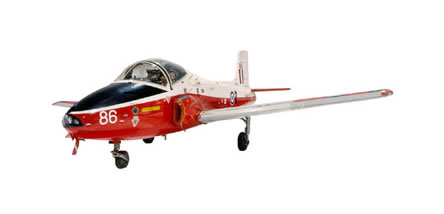 British Aircraft Corporation Jet Provost T5A