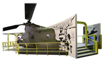 Boeing CH47D Chinook (Forward fuselage section)