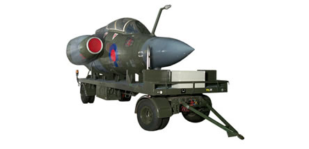 Blackburn Buccaneer S1 (Nose section only)