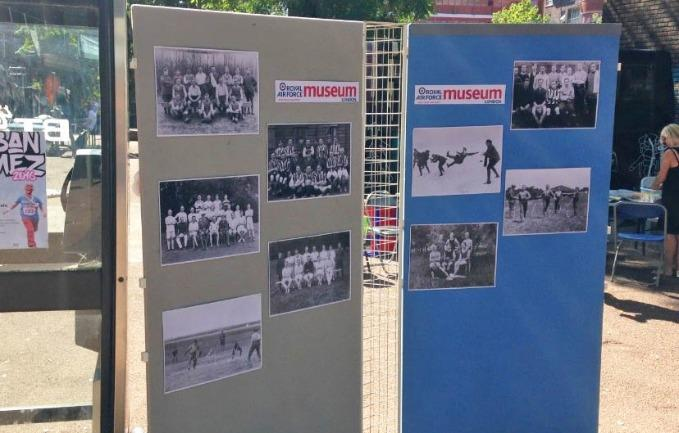 Display Panels showing historic photographs