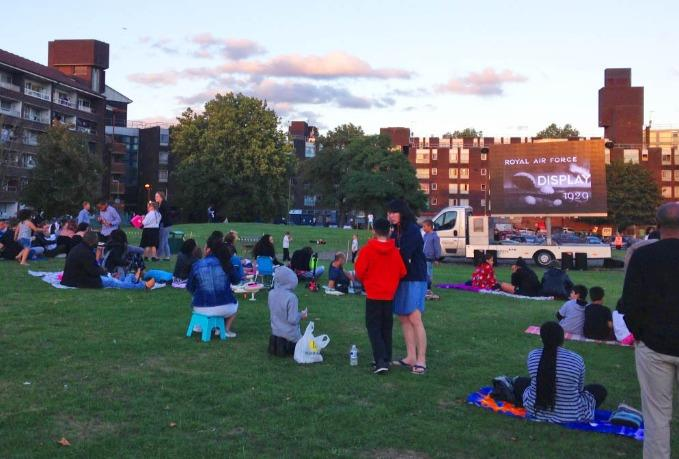 Grahame Park Open Air Cinema