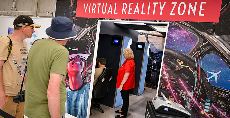 Virtual Reality Zone now open