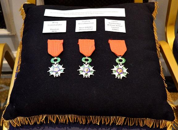 Legion d'honneur medals