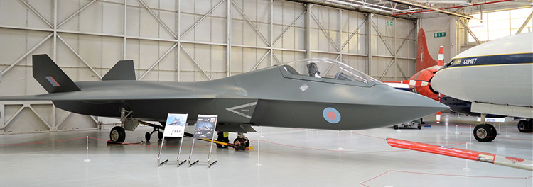 BAE Tempest Concept Model on display at Cosford