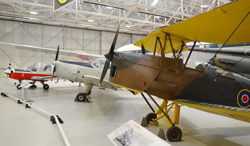 Tiger Moth, Chipmunk and Bulldog
