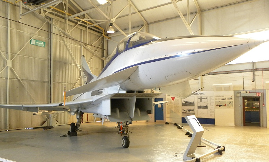 Experimental Aircraft Programme now on display at Cosford