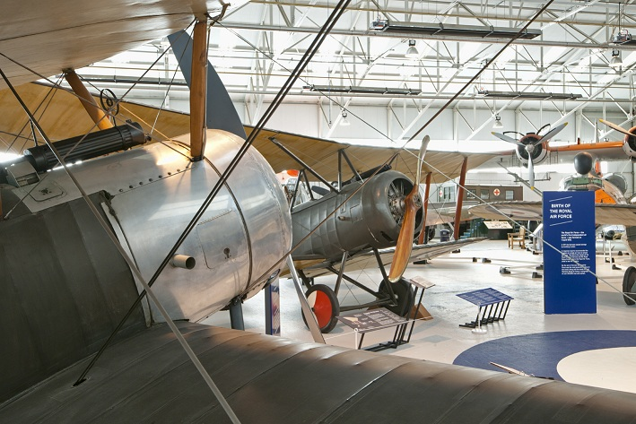 Chocks away for 'First World War in the Air' exhibition at Cosford