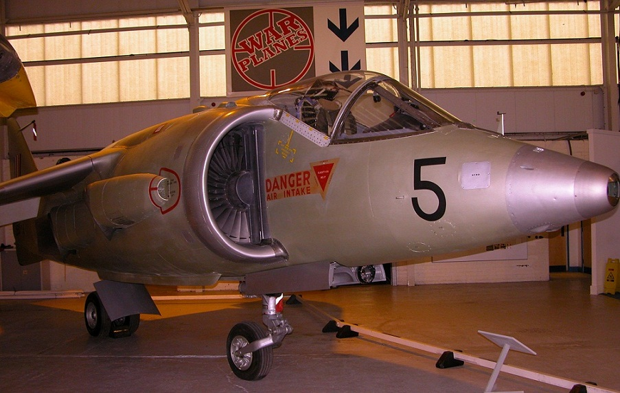 Kestrel goes on display at Cosford