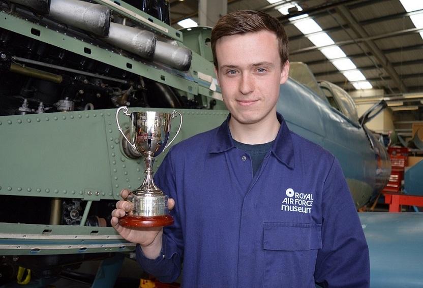 RAF Museum Apprentice, Matthew Treanor-Cartwright