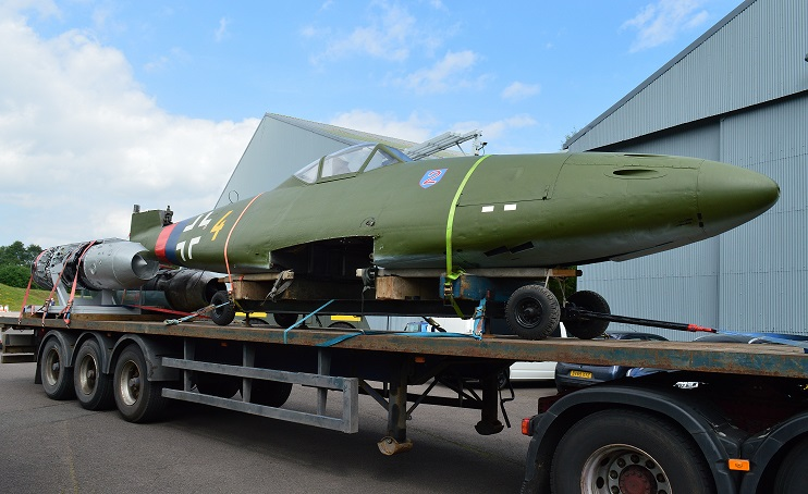 Me 262 rejoins Cosford's German aircraft collection