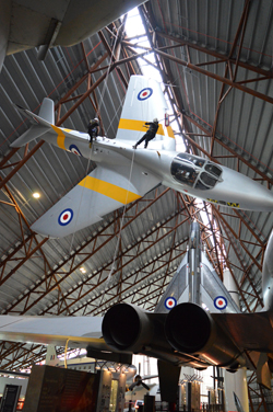 Hunter at Cosford