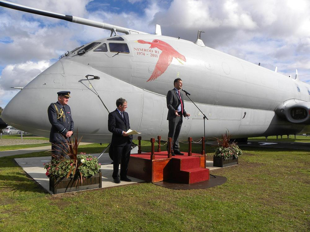 Nimrod R.1 unveiled at Museum