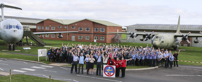 RAF100 Air Researcher Badge Launch at the RAF Museum at Cosford