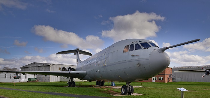 Climb on board the F-111 and VC10!