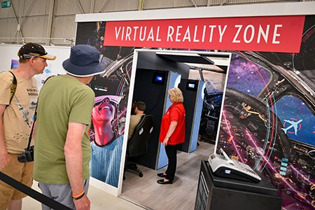 Cosford's Virtual Reality Zone