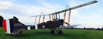 WWI replica BE2e on display at Cosford this weekend only!