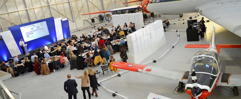 Conferences in Hangar One