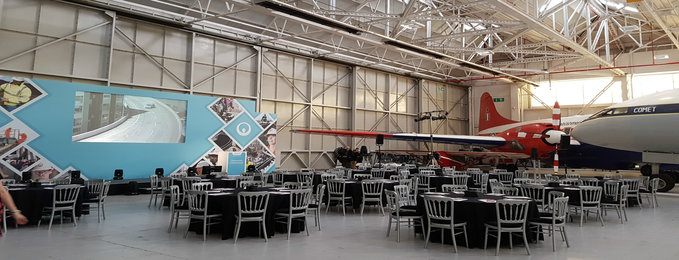 Hangar One, ideal for large conferences