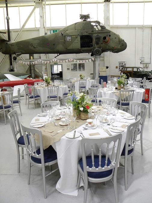 Hangar 1 Wedding Reception