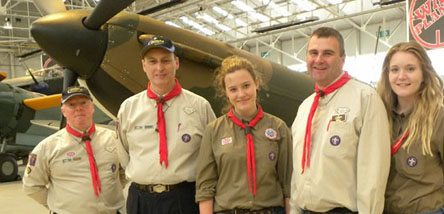 Scout visits to Cosford