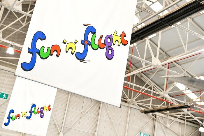 Fun 'n' Flight banners