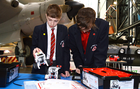 Learning activities at Cosford