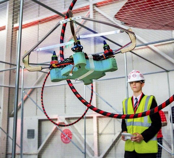 Raytheon's Quadcopter Challenge
