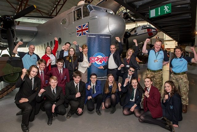 STAAR partners and the 2017 pilot programme recruits