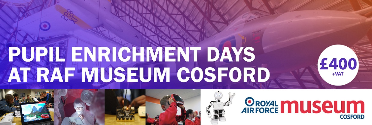 Join us for a pupil enrichment day at Cosford