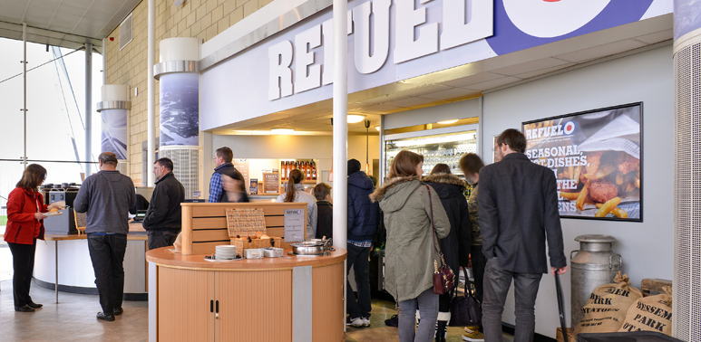 Cafes | Plan your day | Cosford | RAF Museum