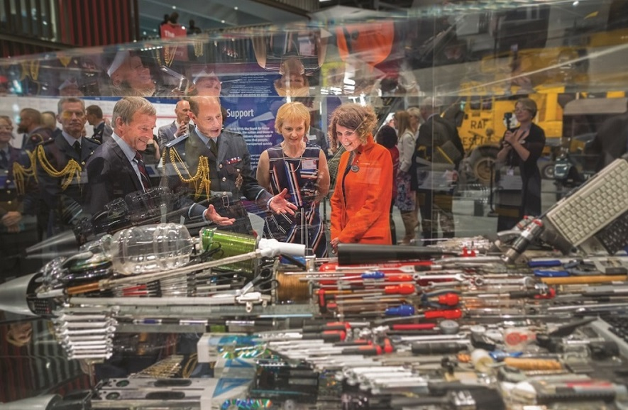 RAF Museum Royal Opening