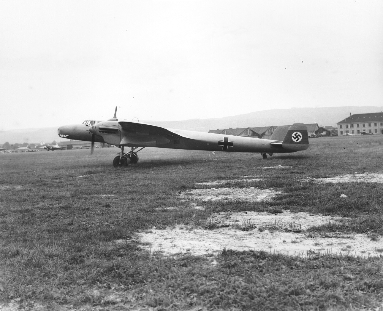 The Dornier 17 was first seen in public at Zurich in 1937 (RAF Museum Copyright)