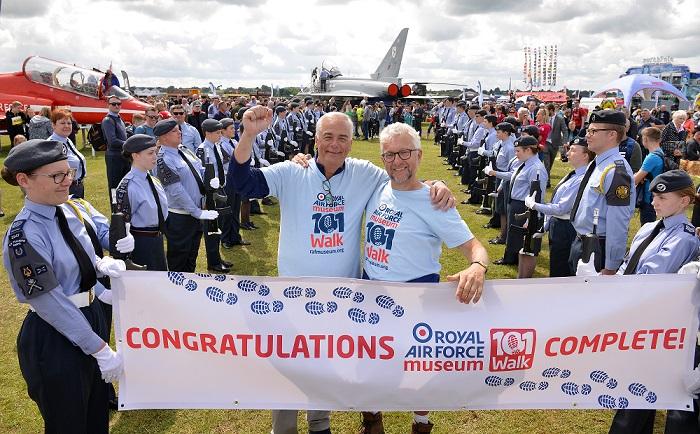 RAF Museum 101 Walk Complete