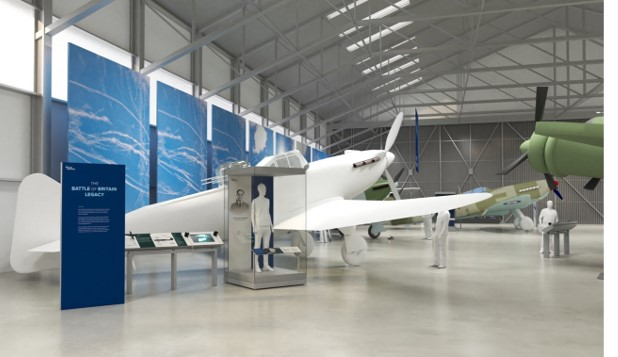 An artist's impression of what our new displays will look like