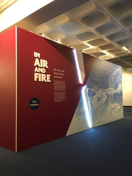 The entrance to In Fire and Air
