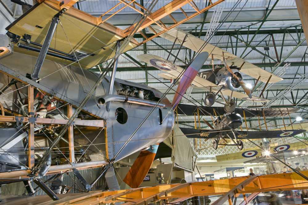 WW1 Flying Machines