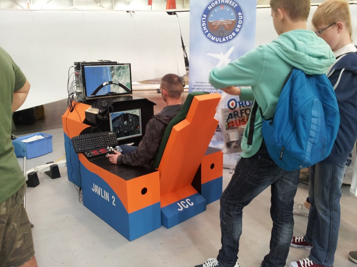 Flight simulation event heads to Cosford