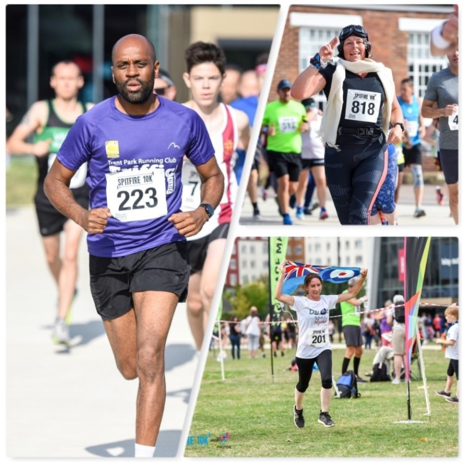 Competitors at our 2019 Spitfire 10k in London