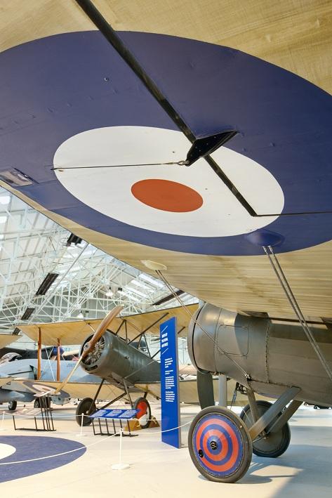 Bristol M1c and the Sopwith 1 1/2 Strutter